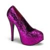 TEEZE-06G Hot Pink Glitter